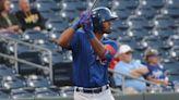 Cubs' Davis shows power bat in Triple-A debut