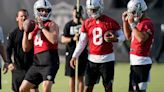 Raiders installing a package of plays for QB Marcus Mariota