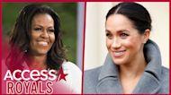 Meghan Markle & Michelle Obama Team Up For Virtual Voter Registration Party