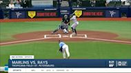 Rays sweep Marlins