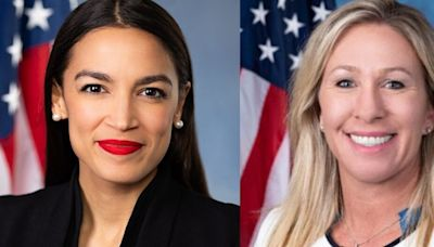 Rep. Greene harasses AOC, accuses her of supporting 'terrorists'