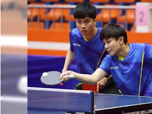 奧運銅牌組合全運會摘金 林昀儒、鄭怡靜花不到20分鐘