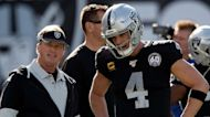 Raiders' Jon Gruden, Derek Carr are developing chemistry in Las Vegas