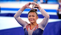 Suni Lee wins gold in Tokyo Olympics gymnastics all-around competition