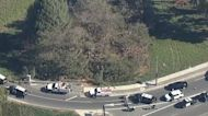 SB 605 Freeway closed in Los Alamitos for shooting investigation