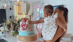 Alesha Dixon's epic four-tiered cake for daughter's first birthday will blow your mind