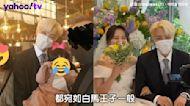 J-Hope變迷弟金髮帥氣參加姊姊婚禮 BTS成員也來了團魂滿滿