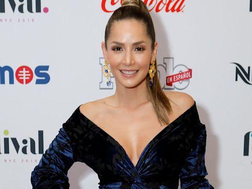 Carmen Villalobos luce su cuerpo en ajustados leggings mientras da tips de belleza