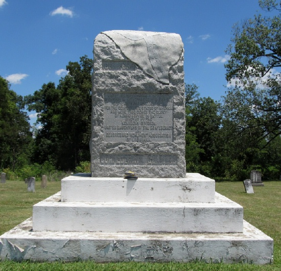 memorial to the confederate soldiers who died at camp beauregard ky ...