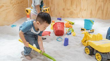 新竹「共好」親子空間~木製玩具、馬卡龍球池、沙坑玩到飽