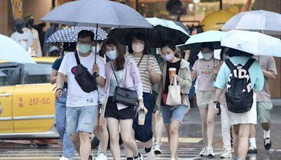 東北風使北台灣整天偏涼 6縣市須留意豪大雨特報