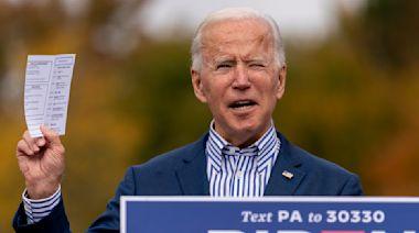 Biden was speaking to George Lopez in widely shared video