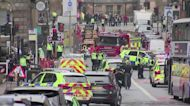 Knifeman kills two in Glasgow, suspect shot dead - BBC