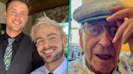 Zac Efron & Brother Dylan 'Bust' Grandpa Out Of Retirement Home To Watch Euro 2020