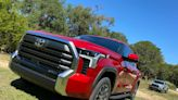 2022 Toyota Tundra pickup brings hybrid power and cloud-based nav system to the Truck Wars