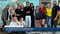 Ewan McGregor and Mary Elizabeth Winstead enjoy dinner in Henrico