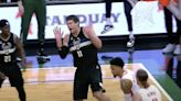 Brook Lopez had the best reaction to being dunked on