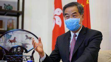 信報即時新聞 -- 梁振英:香港要避免成為西方棋子