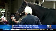 Horse Trainer Bob Baffert's Suspension Lifted By Judge