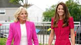 Jill Biden Brushes Off Question on Seeking Kate Middleton's Advice About the Queen: 'We've Been Busy'