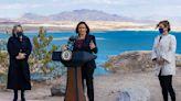 Harris urges Congress to pass Biden initiatives during Lake Mead visit