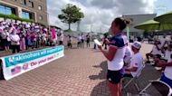 Team USA's Moore shows off Japanese language skills