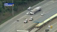 Outbound Lanes Closed On Kennedy Expressway After Crash Involving Motorcycle, Car At Addison