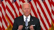 Biden stands 'squarely behind' Afghanistan decision