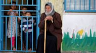 'We need food': Palestinians displaced in Gaza call for supplies