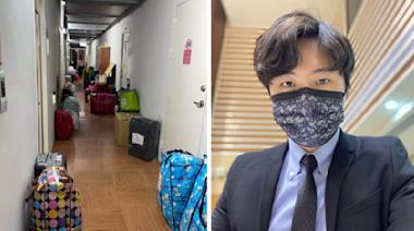 【京元電爆群聚】被隔離移工私人物品被丟到走廊 曾玟學:太離譜了