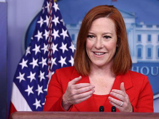 White House Press Secretary Jen Psaki on Being a Working Mom Under Joe Biden
