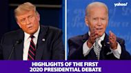 Highlights from the first 2020 presidential debate