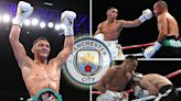 Rejected by Man City as a teenager Marcus Morrison is fighting Eubank Jr