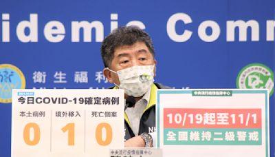 維持二級警戒至11月 於戶外運動、室內外拍照可脫下口罩