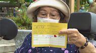 90歲阿嬤打疫苗 戴資穎視訊叮嚀「要多喝水」