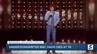 Singer, songwriter Mac Davis dies at 78