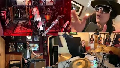 Watch Slash, Lzzy Hale, Gilby Clarke and Matt Sorum Play Virtual Rendition of 'Come Together'