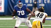 Dave Gettleman showing faith in Giants offensive line by not addressing group in 2021 NFL Draft
