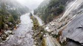 Drought-stricken California drenched by major storm