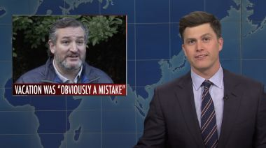 'SNL' Weekend Update Rips Ted Cruz Over Cancun Vacation