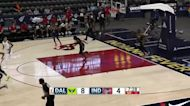 Arike Ogunbowale with a 3-pointer vs. Indiana Fever
