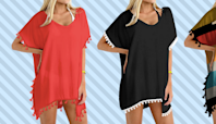 Amazon shoppers love this $13 swimsuit coverup so much, they're buying it in multiple colors