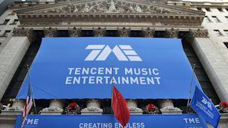 China's Tencent Music raises nearly $1.1 billion in U.S. IPO