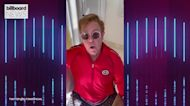 Elton John Sings BTS' 'Permission to Dance' and Thanks the ARMY | Billboard News
