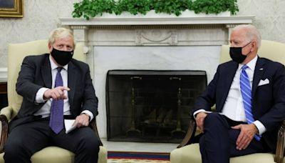 信報即時新聞 -- 拜登晤約翰遜 談美英兩國貿易
