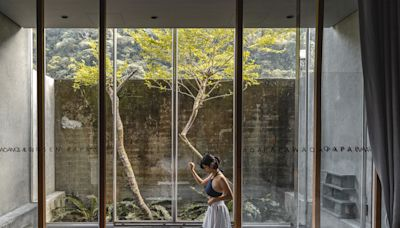 藏身青山祕境「泰安觀止」2021新房型開箱,享受冷熱湯泉與戶外無邊境泳池!