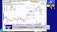 Vertex Shows Relative Strength
