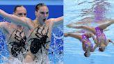東京奧運   拆解韻律泳選手超防水妝容和髮型 如何保持華麗的彩妝?