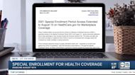 Special enrollment for health coverage
