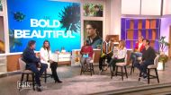 The Talk - 'The Bold and the Beautiful' Stars on Sheila and Deacon Kiss & Tell